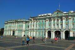 Hermitage in St. Petersburg Stock Image