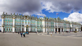 The Hermitage in St. Petersburg, Russia Stock Photo