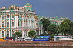 The Hermitage. St. Petersburg, Russia Royalty Free Stock Photos