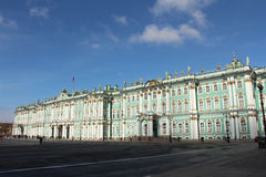 The Hermitage, St Petersburg, Russia. The Hermitage, seen from Palace Square, St. Petersburg, Russia Stock Images