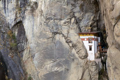 Hermitage at the Tiger's Nest complex, Paro, Bhutan Royalty Free Stock Images