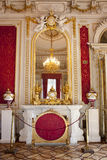 The Hermitage.The winter Palace The boudoir of Empress Maria Alexandrovna, St Petersburg Russia Stock Photography