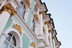 Hermitage and Winter Palace Stock Photography