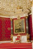 The Hermitage. The winter Palace. The small throne room Stock Photos