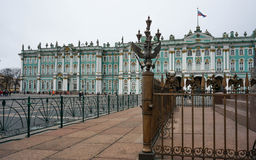 The Hermitage. Winter Palace in St. Petersburg Royalty Free Stock Photo