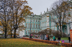 The Hermitage. Winter Palace in St. Petersburg Royalty Free Stock Photography