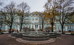 The Hermitage. Winter Palace in St. Petersburg Royalty Free Stock Images