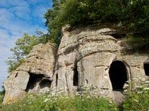 Hermits cave Stock Image