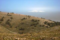 hermon góry Zdjęcia Royalty Free
