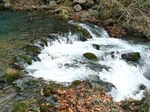 Hermon stream - cascade Stock Images