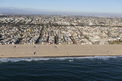 Hermosa Beach Neighborhood Near Los Angeles Stock Photography