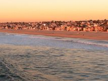 Hermosa Beach Stock Photo