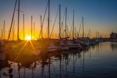 Hermosa-Strand-Hafen Stockfotografie