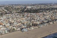 Hermosa strand i sydliga Kalifornien Royaltyfria Bilder