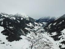 Hermosa vista cerca de Lermoos, Austria Fotos de archivo