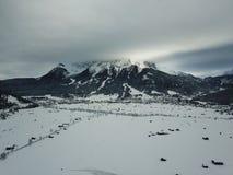 Hermosa vista cerca de Lermoos, Austria Foto de archivo libre de regalías