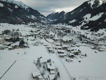 Hermosa vista cerca de Lermoos, Austria Fotos de archivo libres de regalías