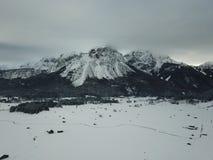 Hermosa vista cerca de Lermoos, Austria Fotografía de archivo libre de regalías