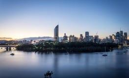 Hermosa vista de Brisbane, Australia fotografía de archivo