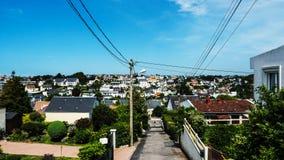 Hermosa vista de la ciudad Le Havre Fotografía de archivo