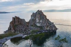 Hermosa vista de la isla de Olkhon Imagen de archivo libre de regalías