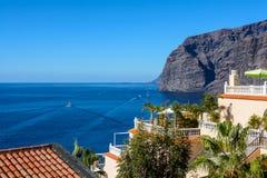 Hermosa vista de la isla en el océano Tenerife españa fotos de archivo libres de regalías
