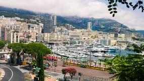 Hermosa vista de Mónaco Imagen de archivo libre de regalías
