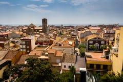 Hermosa vista de Malgrat de marcha, España imágenes de archivo libres de regalías
