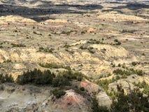 Hermosa vista de montañas en el parque nacional foto de archivo