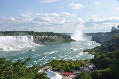 Hermosa vista de Niagara Falls Fotos de archivo libres de regalías