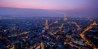 Hermosa vista de París, Francia, torre Eiffel Foto de archivo libre de regalías
