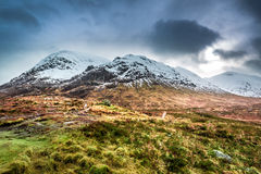 Hermosa vista del Glencoe Imagen de archivo libre de regalías