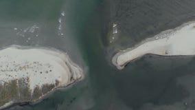 Hermosa vista del océano sereno metrajes
