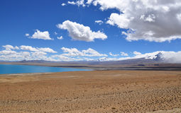 Hermosa vista del paisaje tibetano Imagen de archivo