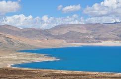 Hermosa vista del paisaje tibetano Imagenes de archivo