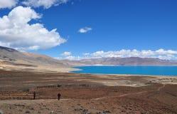 Hermosa vista del paisaje tibetano Fotografía de archivo libre de regalías