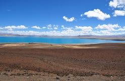 Hermosa vista del paisaje tibetano Imagen de archivo libre de regalías
