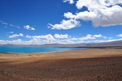 Hermosa vista del paisaje tibetano Fotografía de archivo