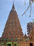 Hermosa vista del templo foto de archivo libre de regalías