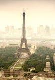 Hermosa vista del viaje Eiffel La torre Eiffel en París, Francia Foto de archivo
