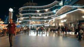 Hermosa vista en Dubai metrajes