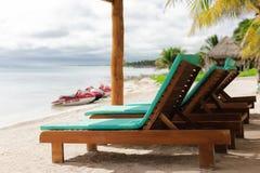 Hermosa vista en el mar del Caribe Imagen de archivo libre de regalías