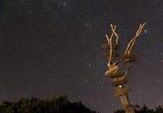 Hermosa vista en el planina de Velika Fotografía de archivo libre de regalías
