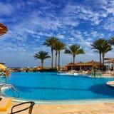 Hermosa vista en Hurghada Fotografía de archivo