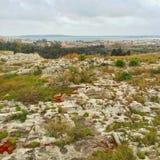 Hermosa vista en Syracusa Foto de archivo libre de regalías