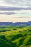 Hermosa vista toscana típica Foto de archivo