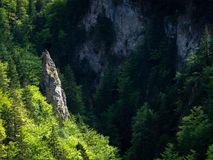Hermosa vista, valle, rocas, naturaleza pura, Tatras del oeste, Eslovaquia Imagenes de archivo