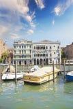 Hermosas vistas de Grand Canal en Venecia, Italia Imágenes de archivo libres de regalías