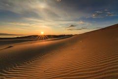 Hermosas vistas del desierto de Gobi Fotos de archivo libres de regalías