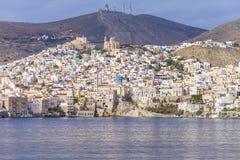 Hermoupolis Греция Стоковое фото RF